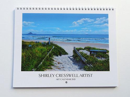 Shirley Cresswell Art Calendar 2021