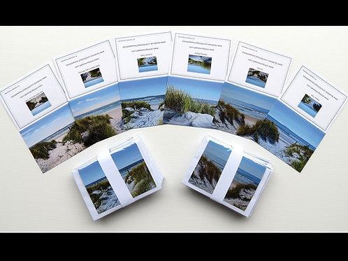 Beach Gift Card Set (5 in a Pack)
