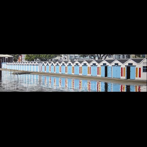Oriental Bay Boat Sheds