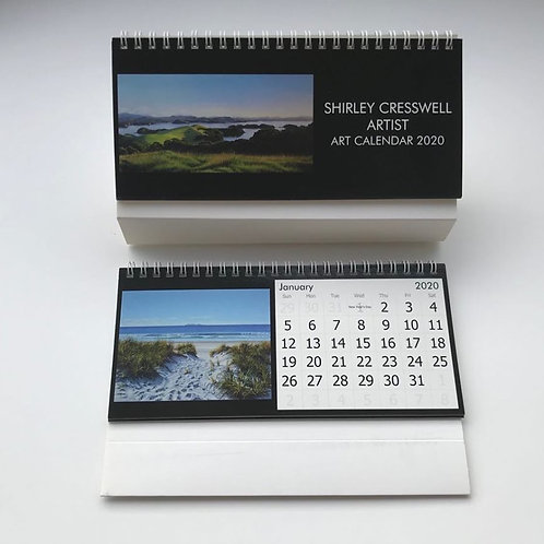 2020 Shirley Cresswell Artist Desk Calendar (International orders)