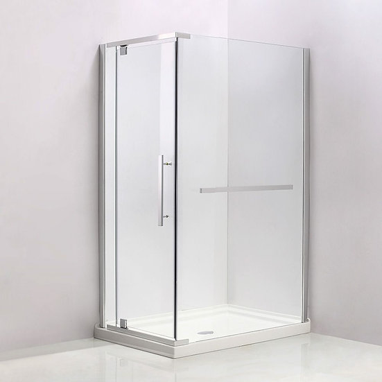 "48"" x 32"" Corner Shower Door With Opening On The 32"" Side"