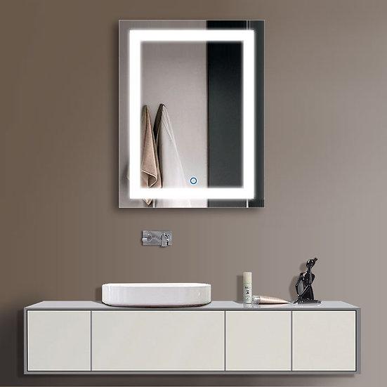 24 x 32 In LED Bathroom Mirror with Infrared Sensor Control, Anti-Fog, Vertical