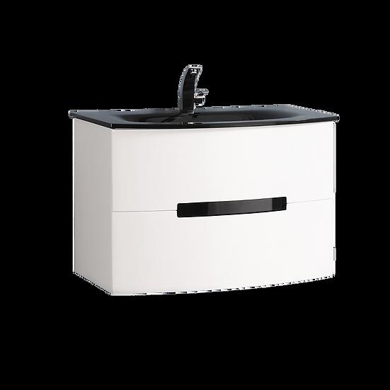 "30"" TULA - White - Single Sink Wall-Hung Bathroom Vanity"
