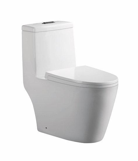 Acqua + Bango, One Piece Toilet, White