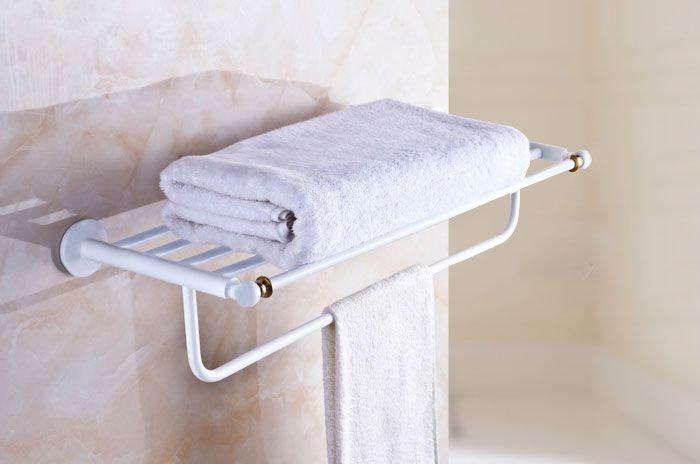 Towel Shelf & Bar 24 Inch