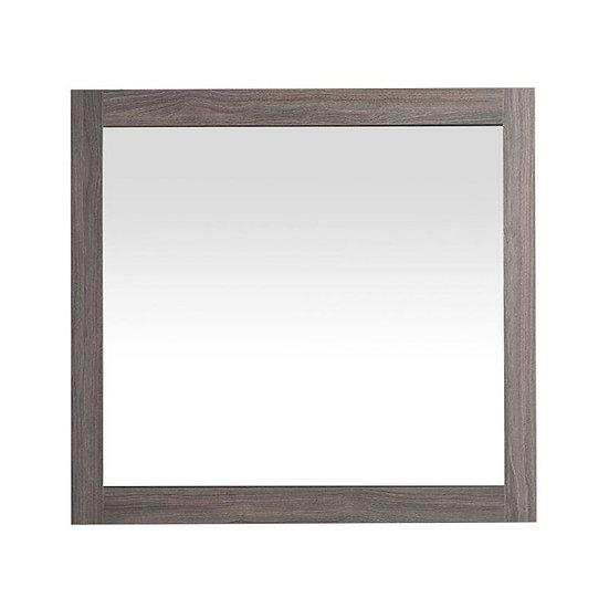 """30"""" Labrador Mirror - Maple Grey"""
