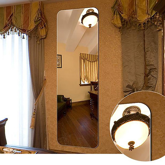 18 x 57 In Wall-mounted Full Length Wall Mirror