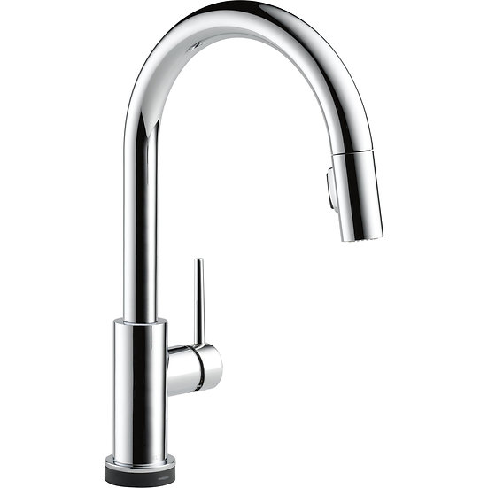 Trinsic By Delta Single Handle Pull-Down Kitchen Faucet with Touch