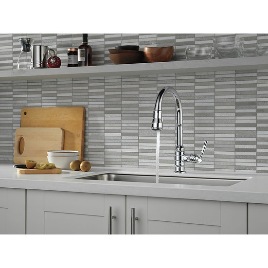 BRODERICK Single Handle Pull-Down Kitchen Faucet