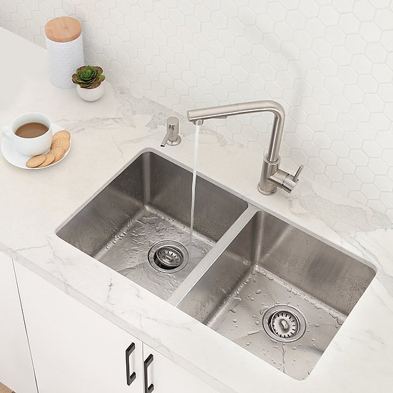 Handmade stainless-steel sinks combine functionality, quality and af