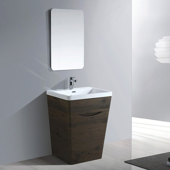 26 In. Bathroom Vanity Set with Mirror,LBVV8316737938