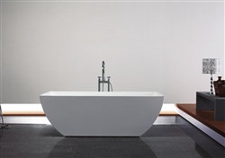 "67"" Aqua Contemporanea Free Standing Bathtub"