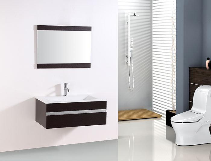 32 In. Wall Mount Bathroom Vanity