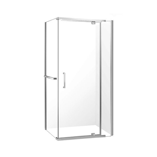 """32"""" Shower Door With 36"""" Side Panel"""