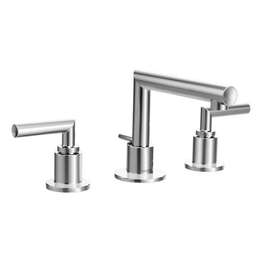 Arris By Moen Two-Handle Low Arc Bathroom Faucet