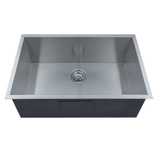 Stainless Steel Handmade Kitchen Sink, Single Bowl.