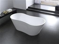 "67"" Onde Free Standing Bathtub"