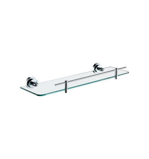 Aqua RONDO Glass Shelve - Chrome