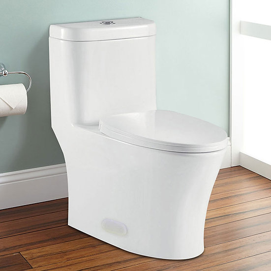 Dual Flush Siphonic One-Piece Toilet