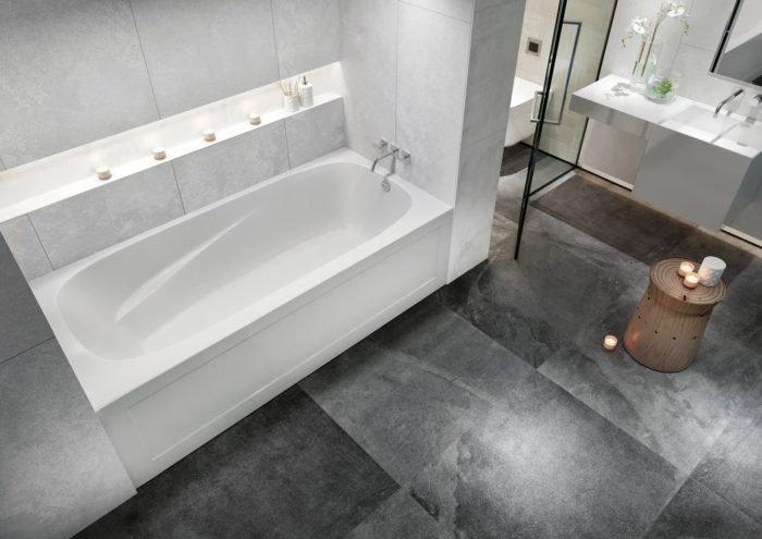 Phoenix™ 3 72″ Skirted Bath