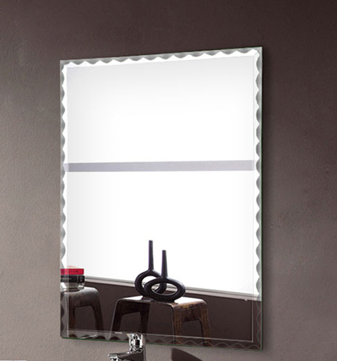 24 x 32 In Wall-mounted Rectangle Bathroom Silvered Mirror