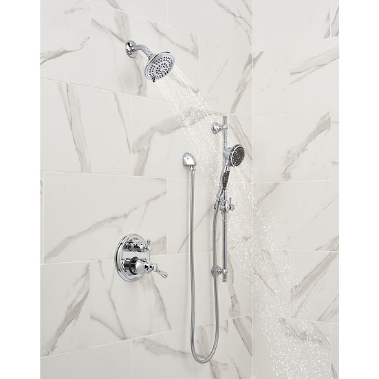 DELTA Premium 3-Setting Slide Bar Hand Shower