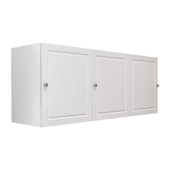 Lotus Laundry Cabinet - White