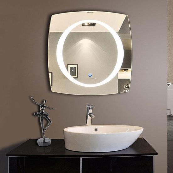 28 x 28 LED Bathroom Mirror