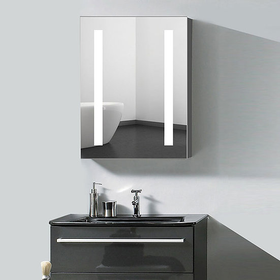 24 x 32 Inch LED Lighted Mirror Cabinet