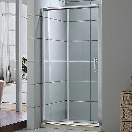 59 x 75 In. Sliding Shower Door