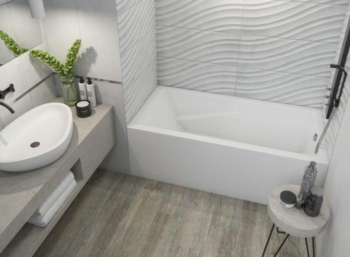 Alora™ 60″ Skirted Bath