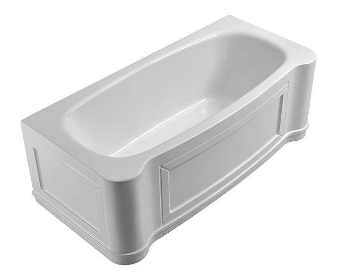 Emma™ 67 Inch Back to Wall Freestanding Bathtub