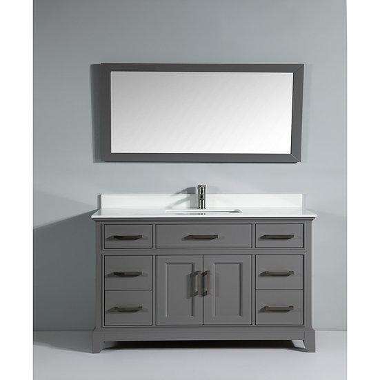 Single Sink Vanity – Super White Phoenix Stone