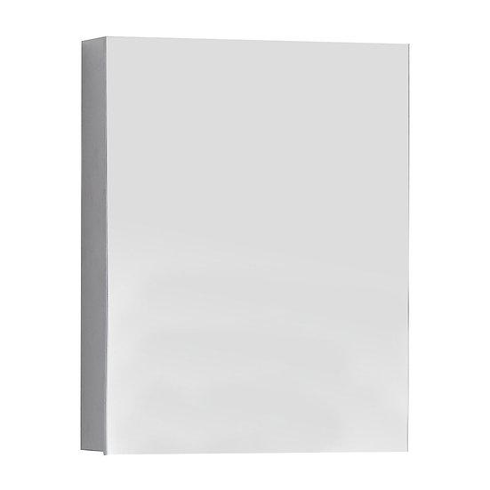Accents 20-in Aluminum Medicine Cabinet