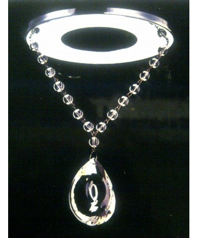Magnetic Crystal Accent Pendant: 1001-G