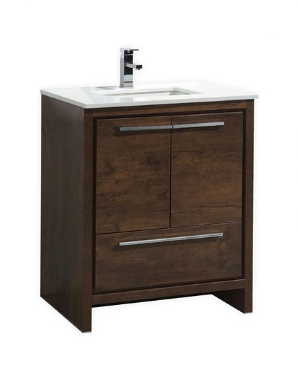 """Dolce 30"""" Rosewood Vanity"""