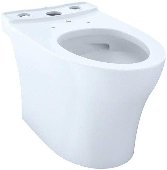 "Toto Aquia IV 1G Elongated Bowl, Cotton White, 15-9/16"", No Seat"