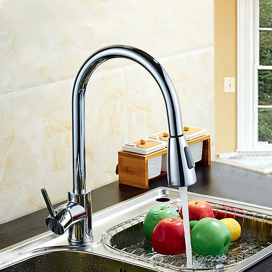 Kitchen Faucet - Pull Out Spray Head