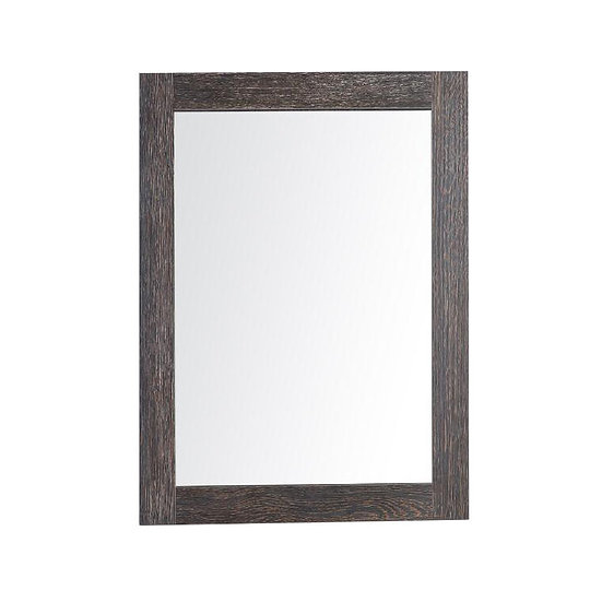 """24"""" Labrador Mirror - Dark Oak"""