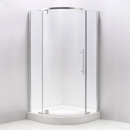 """36"""" Round Shower Door"""