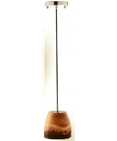 Mango Wood LED Single Pendant