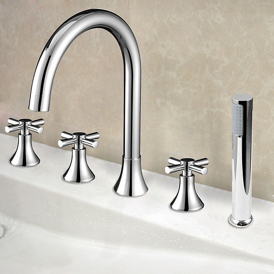 5 pieces Brass Bathtub Faucet, TF799666867910