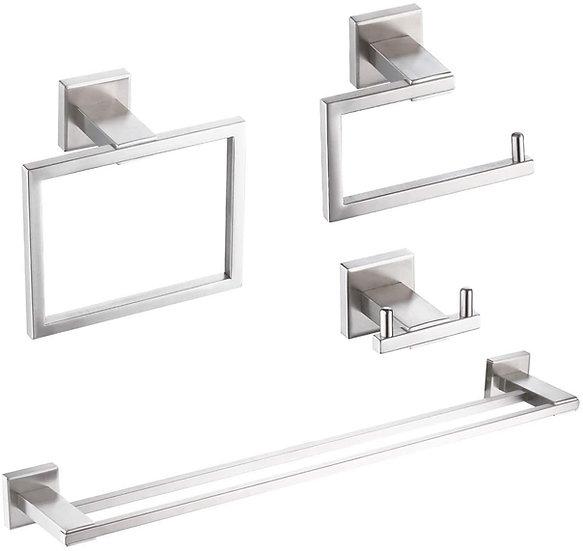 LBG Bathroom 4 Piece Set Hardware Accessories