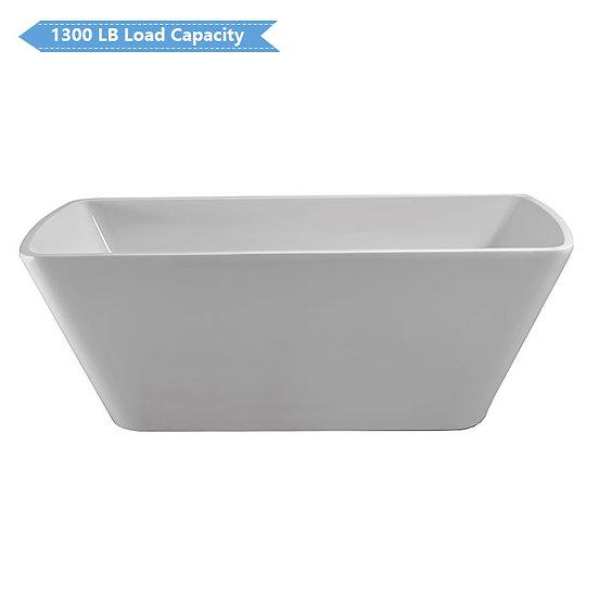 68 In Freestanding Bathtub