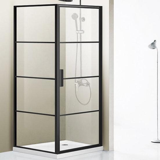 "Sondrio 35.6"" W x 76"" H Rectangle Pivot Shower Enclosure* Glass Only*"