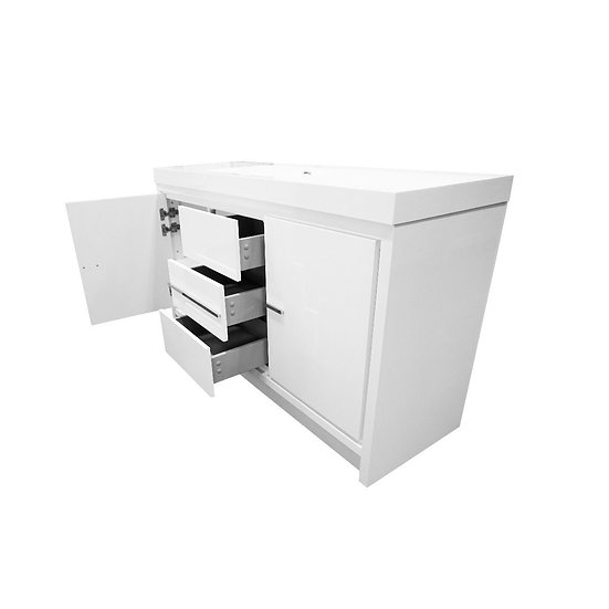 "60"" Allier Single Sink Bathroom Vanity"