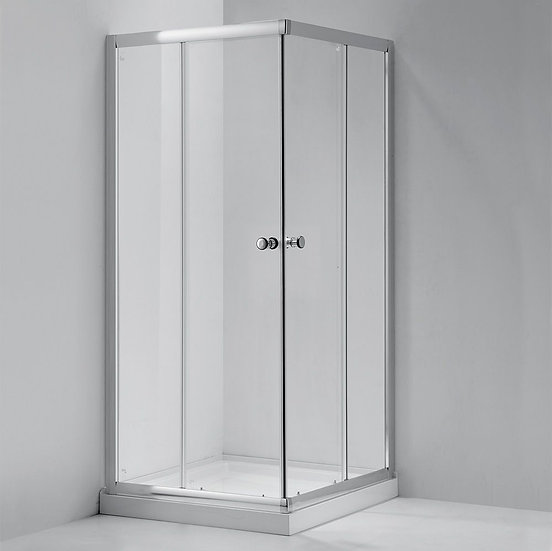 "34"" Shower Door For Square Base"