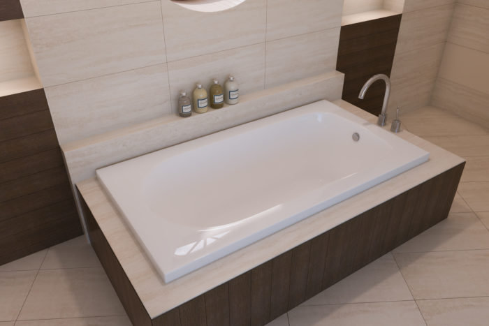 Bliss™ 60″ Drop-In Bath