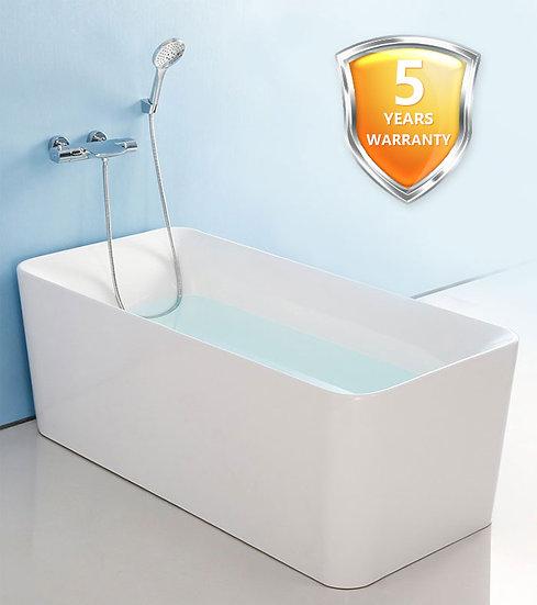 Chole 59 In Freestanding Bathtub - Acrylic White