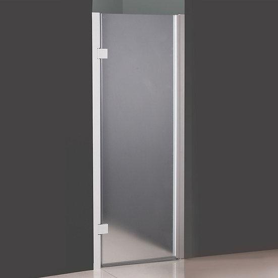 """23"""" Mist Glass Shower Door"""